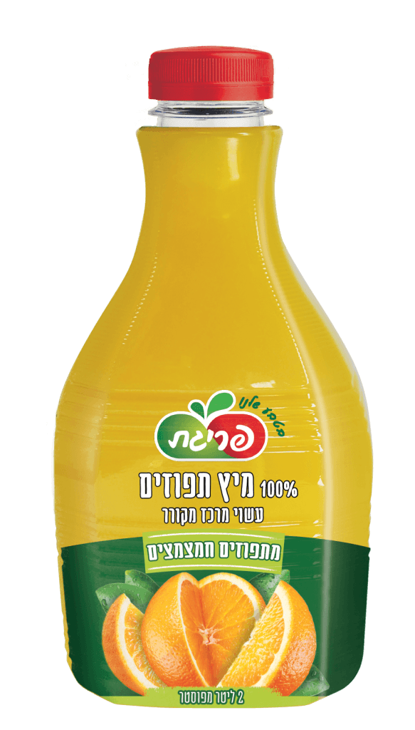מיץ תפוזים חמצמץ טבעי של פריגת
