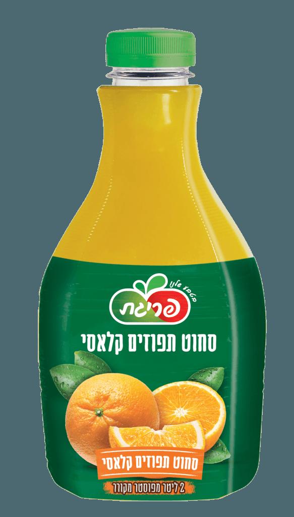 מיץ תפוזים סחוט טבעי
