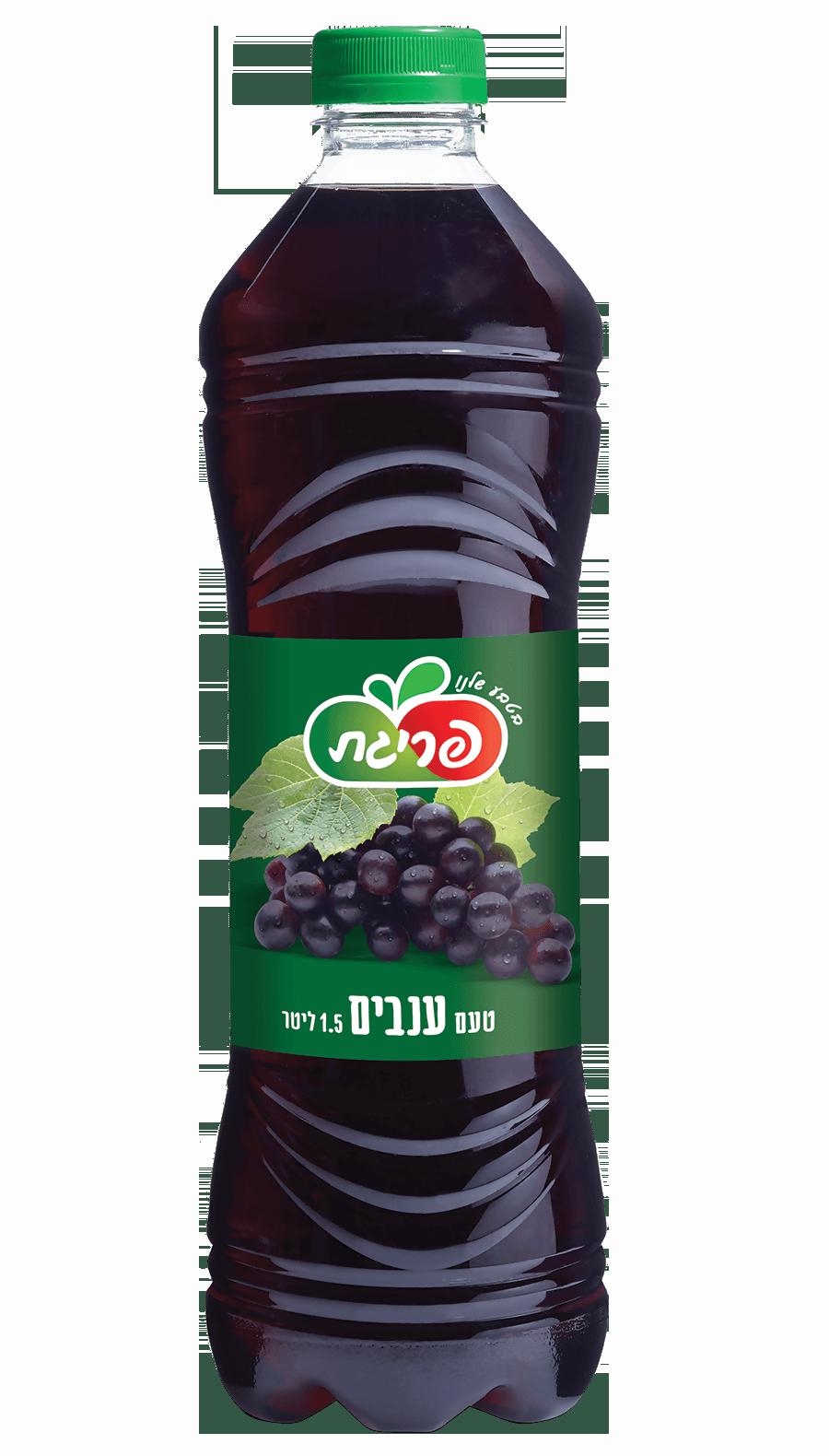 משקה קל בטעם ענבים
