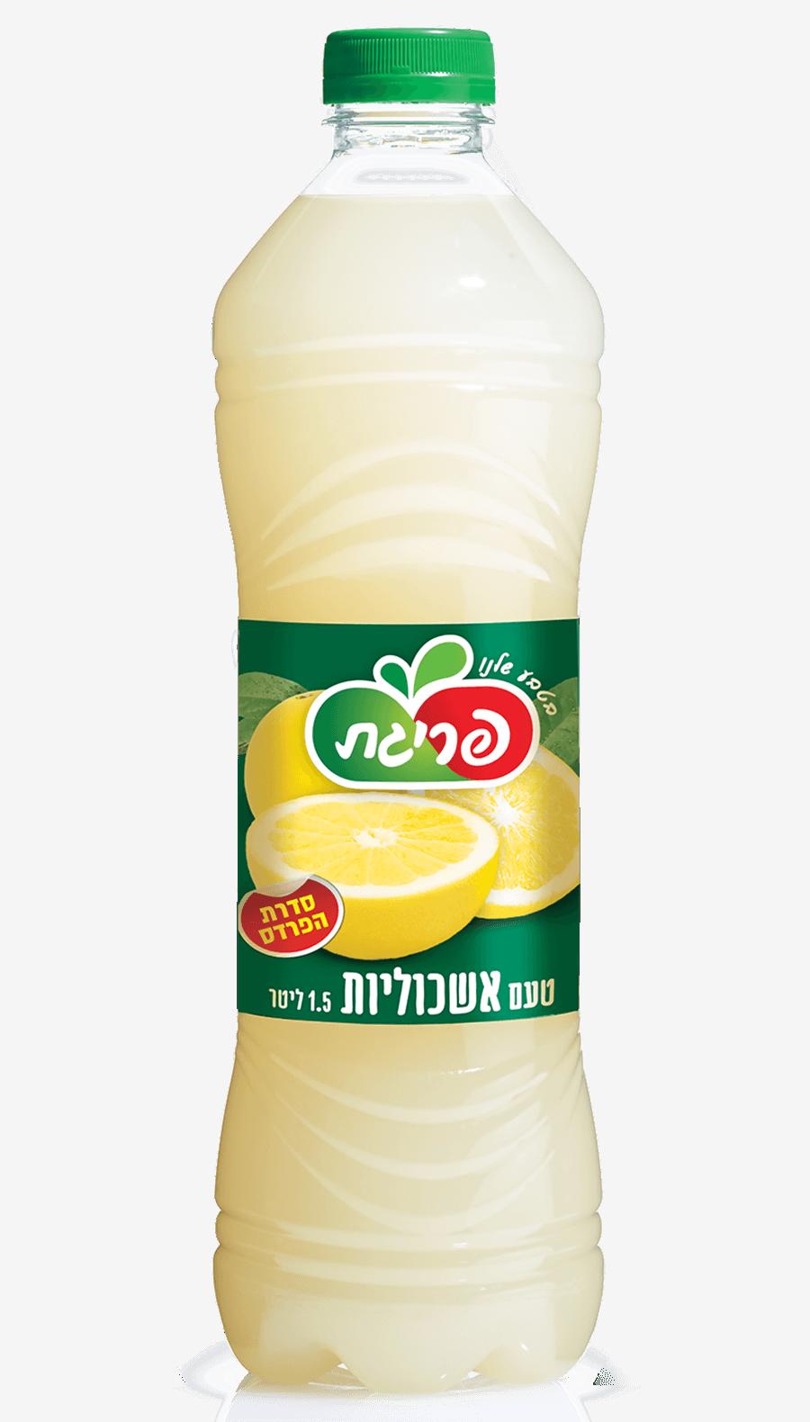 משקה קל בטעם אשכוליות