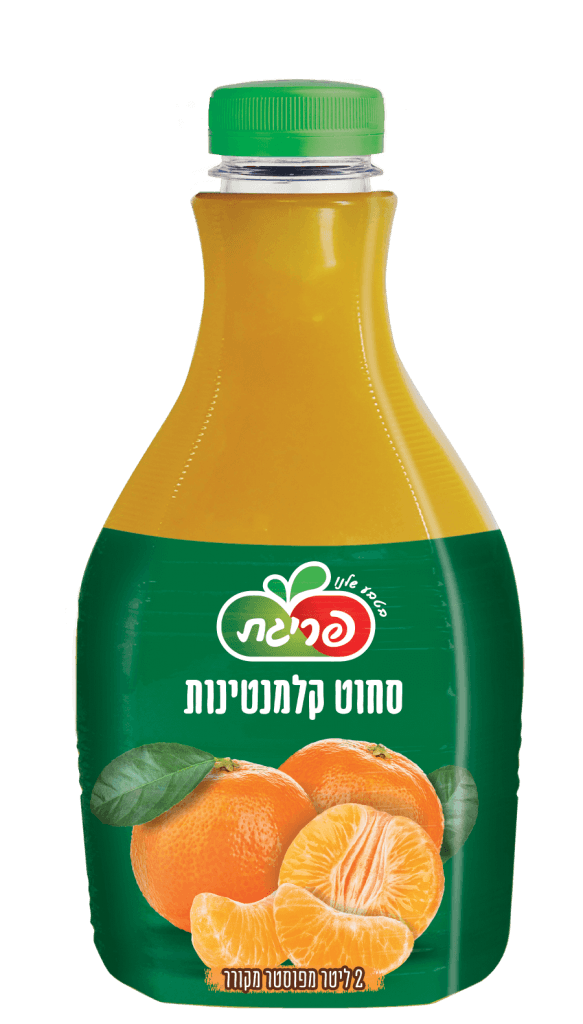 מיץ קלמנטינות סחוט טבעי של פריגת