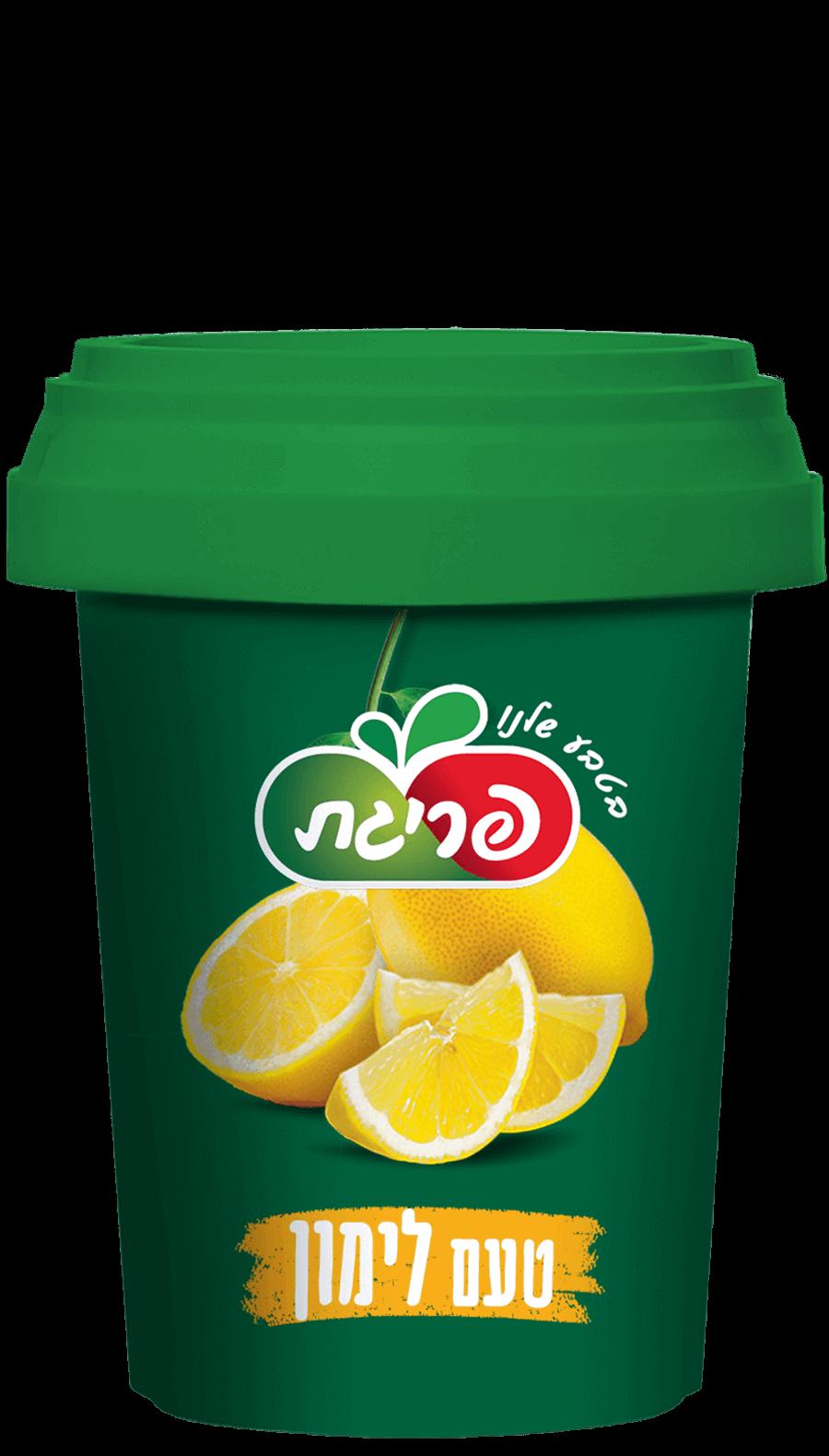 משקה לימון מרוכז קפוא