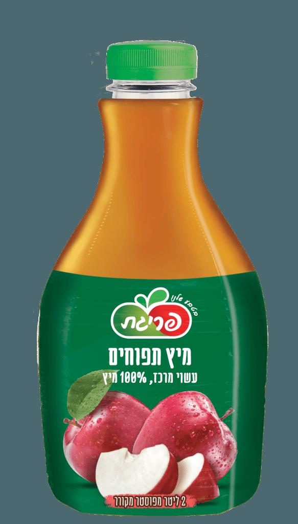 מיץ תפוחים סחוט טבעי של פריגת