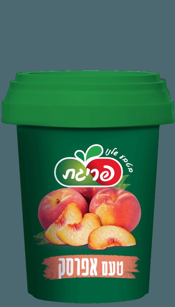 משקה קפוא ומרוכז בטעם אפרסק