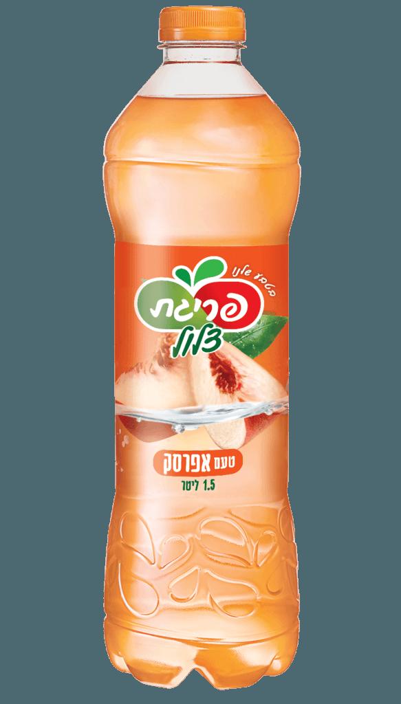 מיץ אפרסק צלול של פריגת