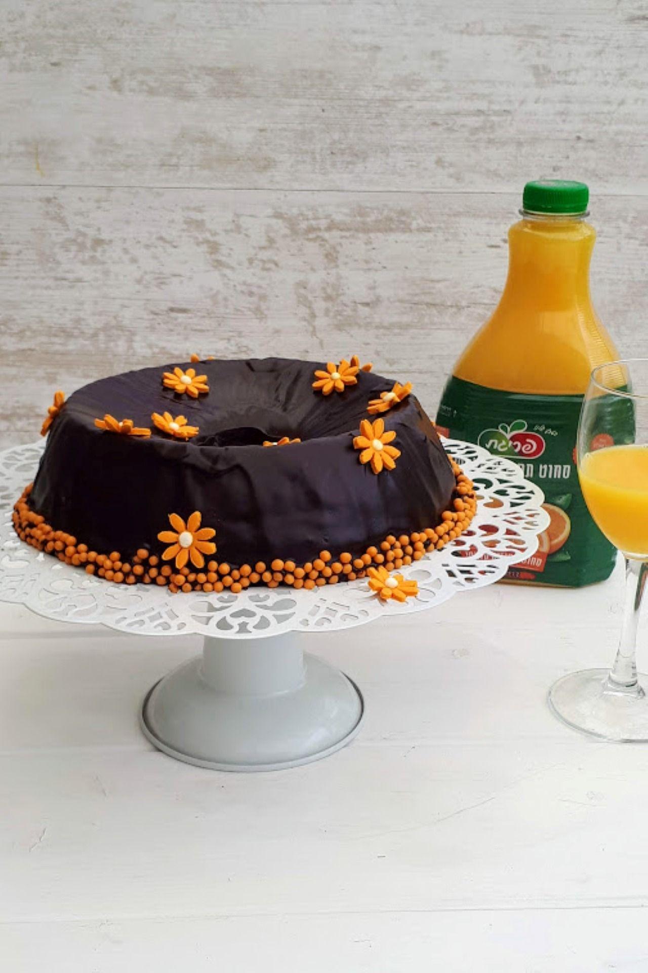 עוגת שוקולד-תפוז לפסח