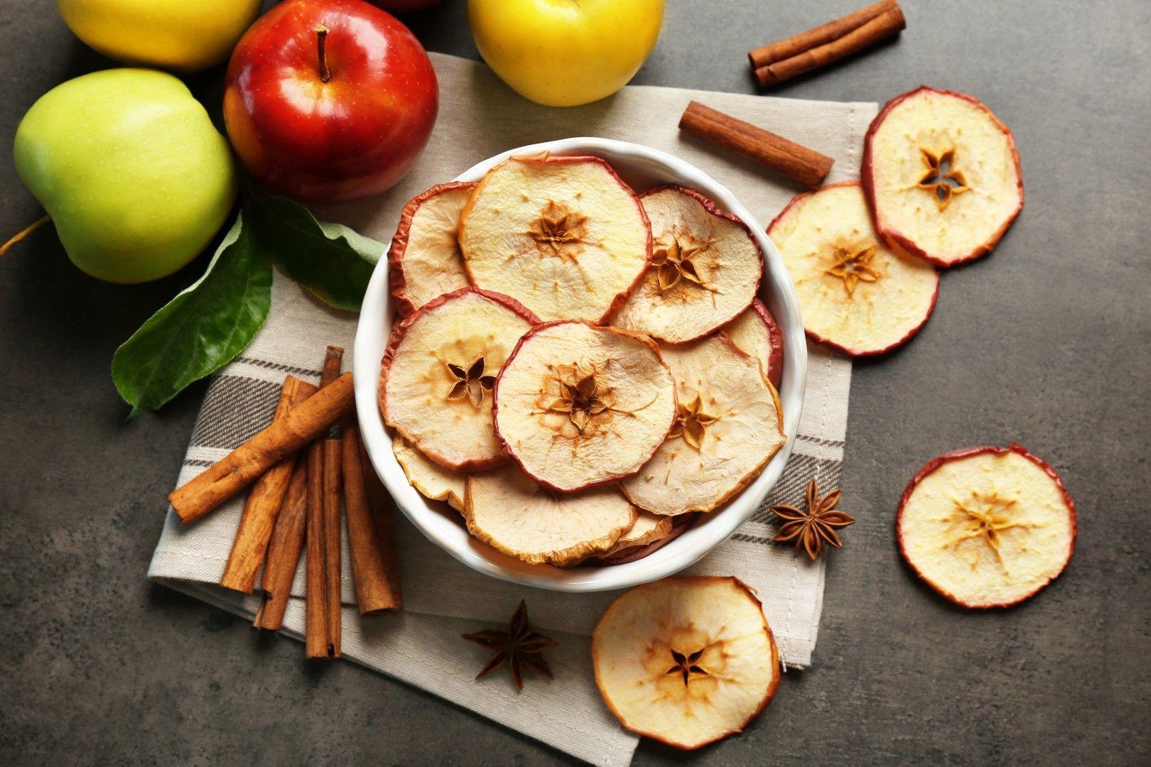 צ'יפס תפוחים