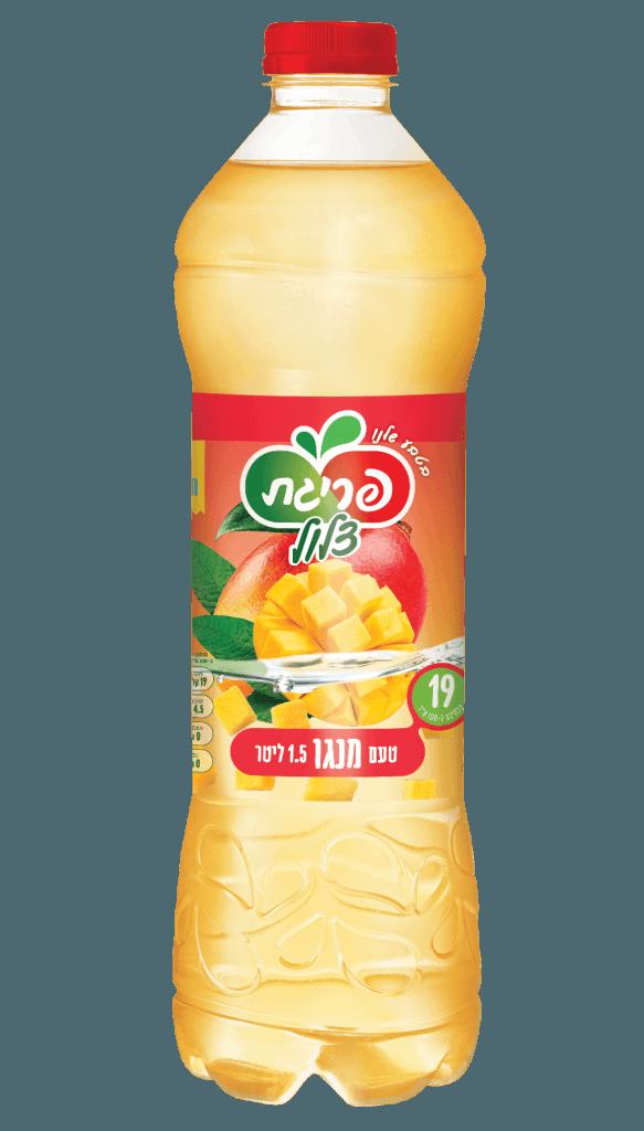 משקה צלול בטעם מנגו של פריגת