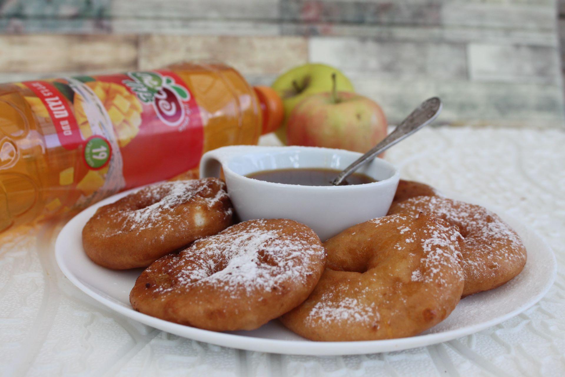 לביבות תפוח מנגו